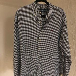 MENS POLO RALPH LAUREN BUTTON DOWN DRESS SHIRT